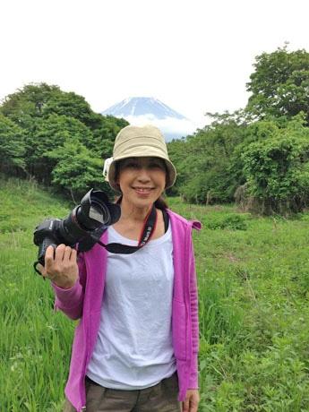 フォトセミナーの講師を務める鈴木知子さん