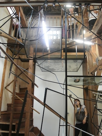 鎌田友介さんの作品(高架下エリア、1の1スタジオ)