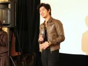 横浜中華街映画祭で俳優チェン・ボーリンさん舞台あいさつ