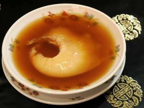 ハオツークーポンの美食節限定「ふかひれの姿煮」(菜香新館)