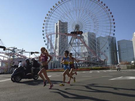 昨年の「横浜国際女子マラソン大会」の様子