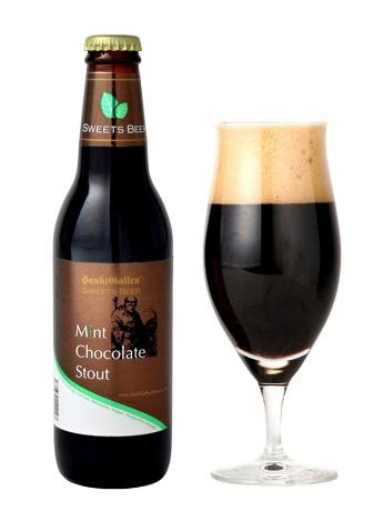新フレーバー「ミントチョコレートビール」