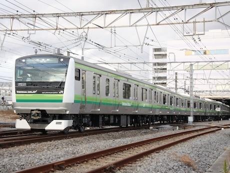 2月16日から運転が始まる新型車両E233系