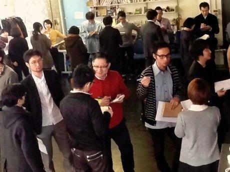国際シンポに先立つ2月1日、Y-GSAはさくらWORKS<関内>で「団地」をテーマにしたアイデアソンを開催した。