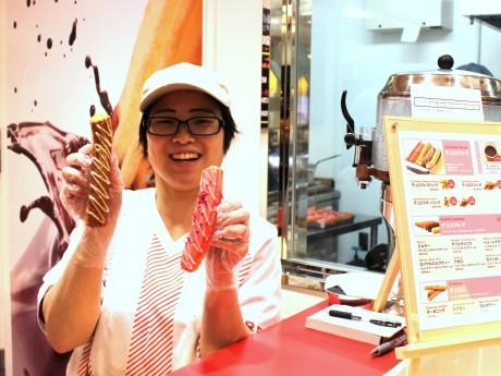 横浜ポルタ店スタッフの河西美幸さん
