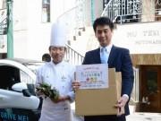 LED栽培野菜の流通に「チョイモビ」-横浜・馬車道ハイカラ野菜