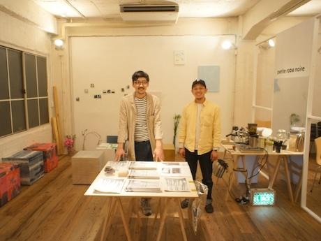 カフェプロジェクト「Yokoso Cocowa Cafedesu」を展開するアーティストユニット「L PACK」