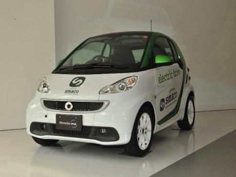航続走行距離181kmの「スマート電気自動車」20台を使用
