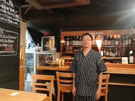 「Bar Left Bank」の島田潤さん