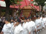 お三の宮日枝神社で「例大祭」-市内最大・火伏神輿の巡行も
