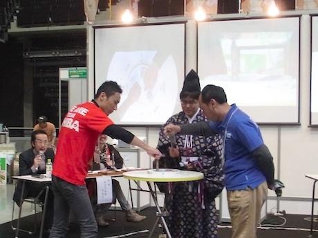 南関東ブロック決勝戦に出場した五光発條(横浜市瀬谷区)の岩佐勇さん