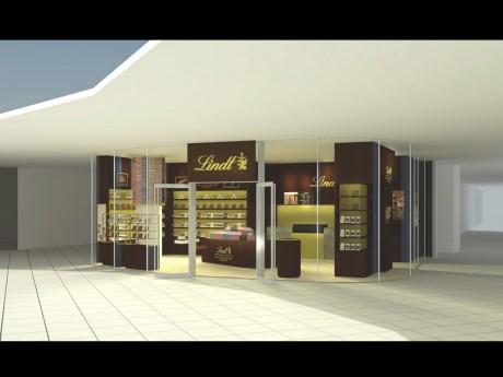 「リンツ ショコラ カフェ 横浜ベイクォーター店」外観イメージ