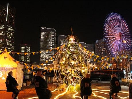 昨年のアースアワーイベントの様子 ©WWF Japan