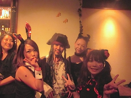 昨年の吉田町のハロウィーンイベントの様子