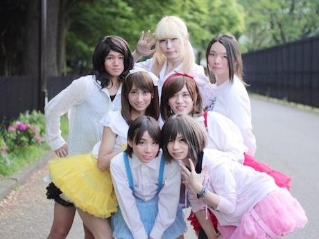 11月1日にステージ出演する男の娘だけのアイドルユニット「最先端ガールズ」