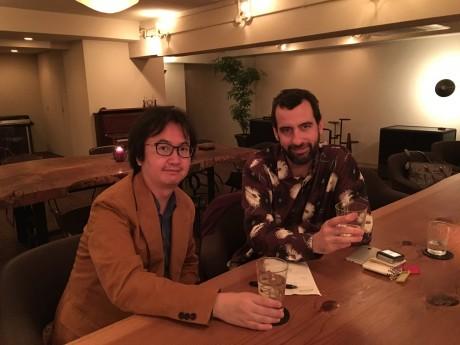 岡田智博さんとミリク・ミランさん