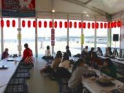 横浜赤レンガ倉庫で「鍋小屋」初開催 海を見ながら畳で鍋