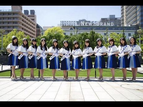第34回横浜開港祭親善大使のメンバー