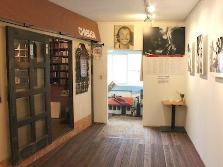 2階に併設した「吉田衛記念館」とギャラリースペース