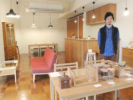 「CLUTCH WORKS」の高橋勇志郎さん