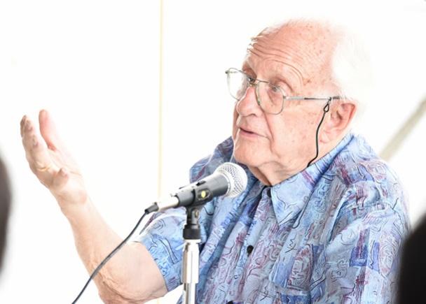 ガルトゥング博士は1930年生まれで85歳