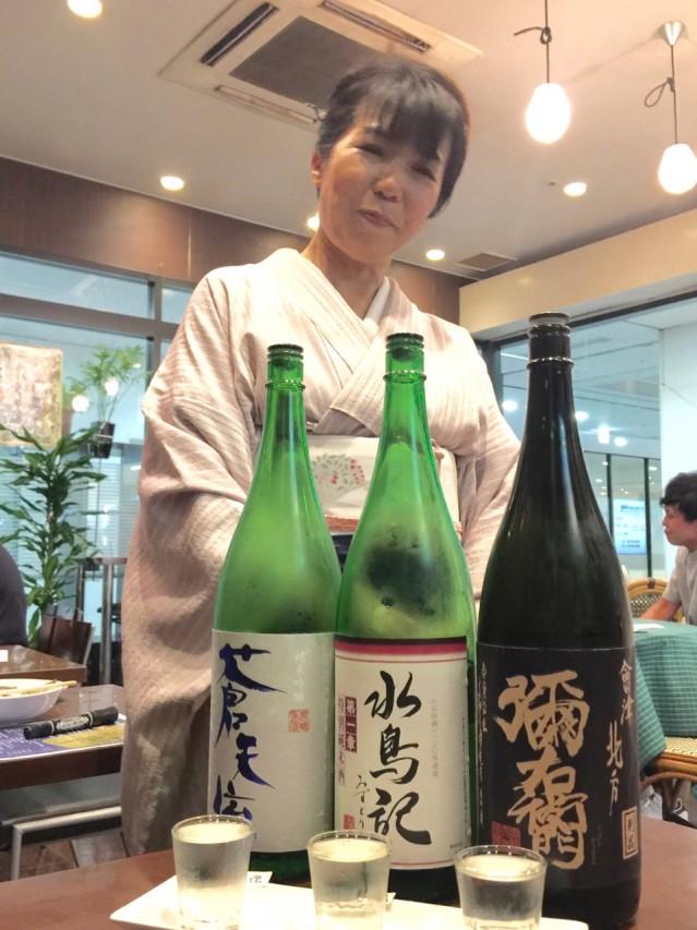 「ふくしまの地酒BAR」ママの谷杉佐奈美さん