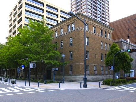 2005年~2010年にZAIMとして使われていた旧関東財務局横浜財務事務所