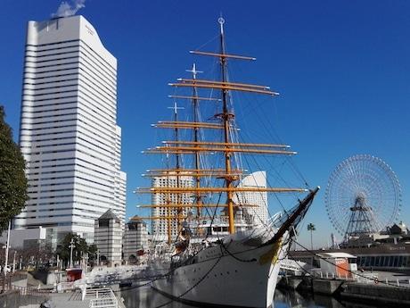 87回目の進水記念日を迎える帆船日本丸