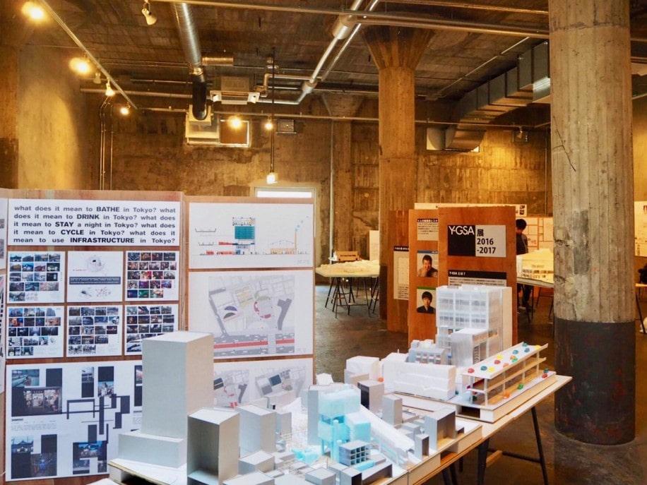 横浜大改造計画 展示の様子