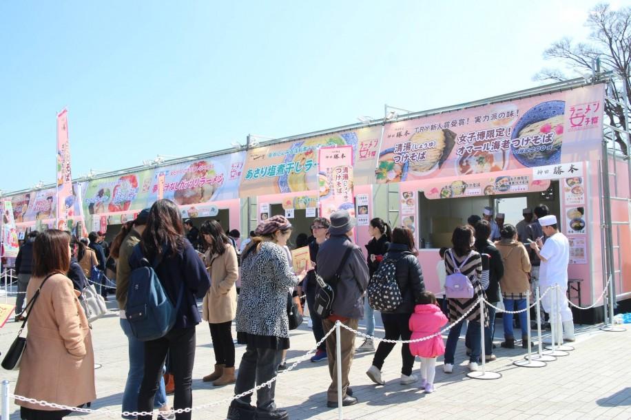 赤レンガ倉庫で「ラーメン女子博'17」 女性のためのラーメンイベント