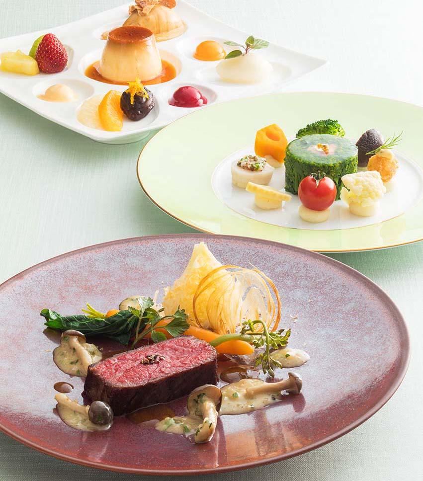 3階フランス料理「クイーン・アリス」で開催中