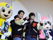 横浜ブルク13で映画「ラストコップ THE MOVIE」舞台あいさつ 唐沢寿明さん、窪田正孝さんが登場