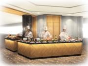 横浜ロイヤルパークホテル70階の天空ラウンジ「シリウス」がリニューアル ライブキッチンが登場