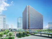 清水建設がみなとみらいに大規模賃貸オフィスビル 横浜駅からペデストリアンデッキで接続