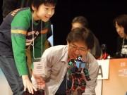 横浜で「二足歩行ロボット格闘技大会」 ロボットの普及とエンジニアの育成を目的に