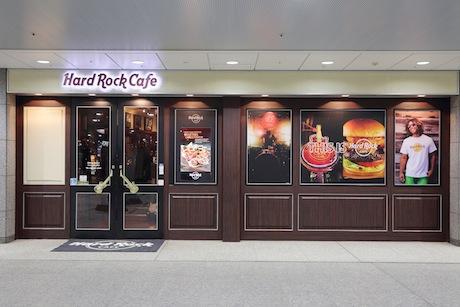 「ハードロックカフェ横浜」入口