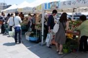 横浜ベイエリアで「よこはま食と農の祭典」 横浜北仲マルシェ会場では野菜やパンを販売