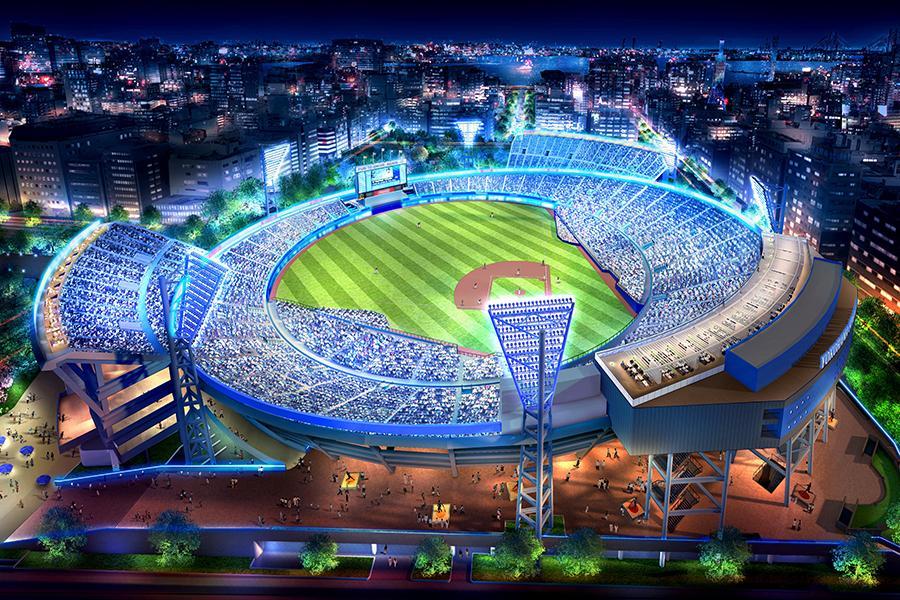 横浜スタジアム観客席6,000席増へ 11月に着工、東京2020オリンピック前の平成32年2月の完成を目指す