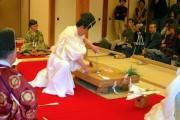 横浜三溪園「鶴翔閣」でお正月イベント 平安時代から続く儀式「包丁式」や伝統手品「和妻」も