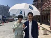 横浜市が映画「恋は雨上がりのように」と連携して「傘シェア」プロジェクト