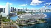 新港ふ頭に体験型商業施設とホテルが誕生 「ヨコハマ ハンマーヘッド プロジェクト」が着工
