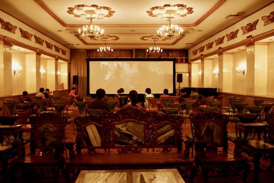 かつては映画館だった同發新館ホール