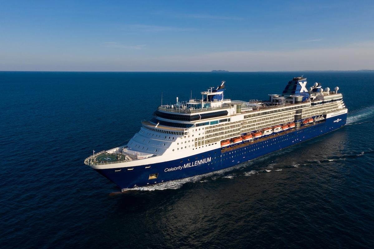 今年2月に大改装を終えた客船「セレブリティ・ミレニアム」