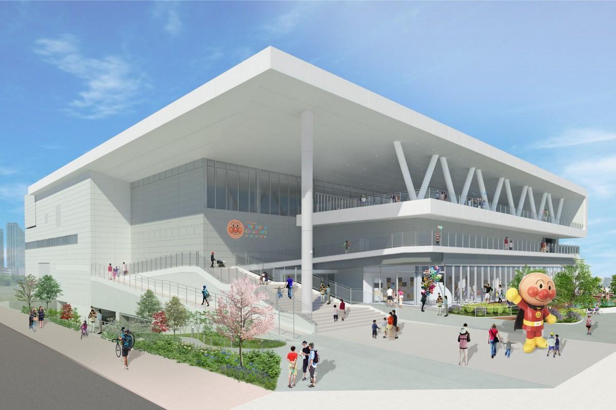 「横浜アンパンマンこどもミュージアム」の外観イメージ