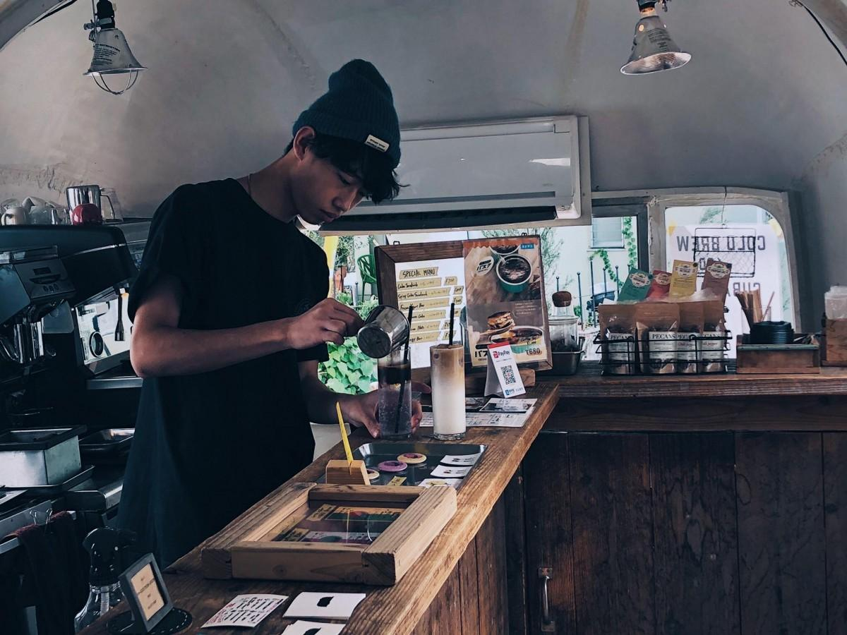 YOKOHAMA COFFEE FESTIVALを企画した百崎佑さん