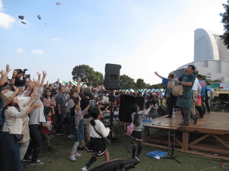 臨海パークで「東日本大震災・復興支援まつり」 八神純子さんライブも