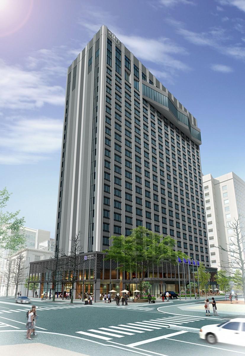 5月23日に開業する「ハイアット リージェンシー 横浜」外観