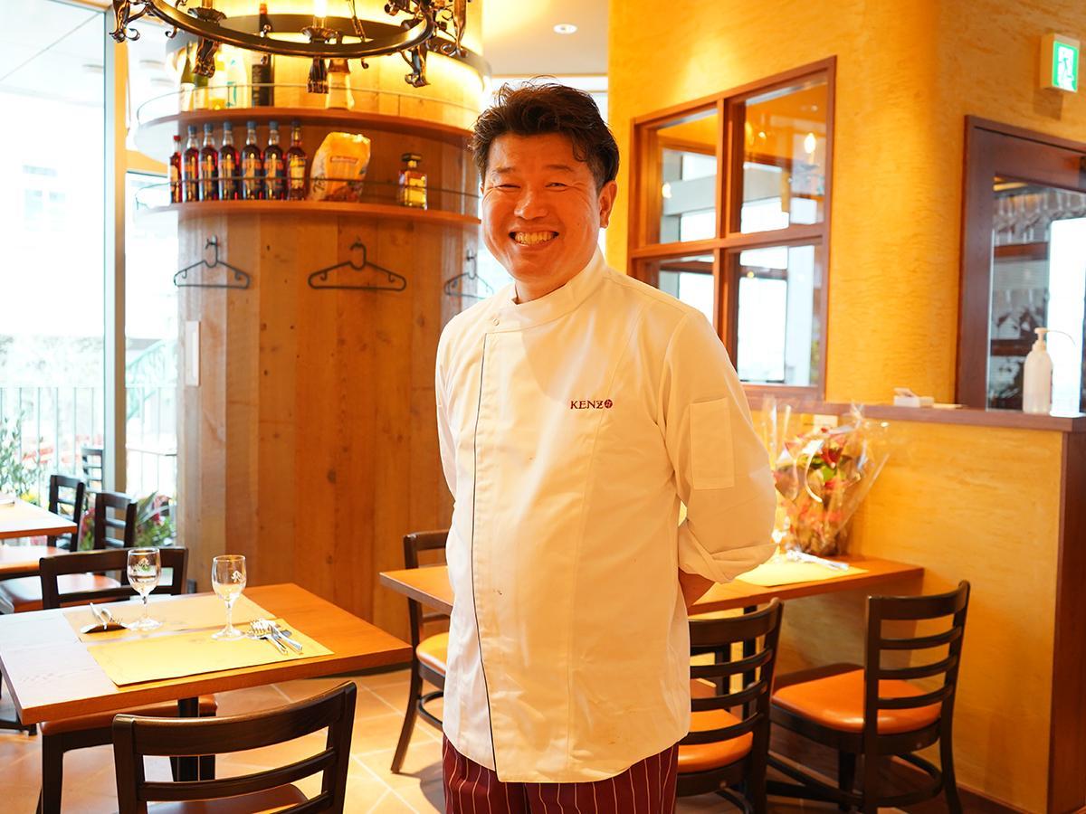 「ラ・テンダロッサ」で17年間シェフを務めた西沢健三さんが独立「トラットリア ダ ケンゾー」を開店