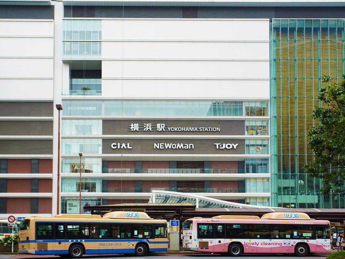 横浜駅直結のJR横浜タワー