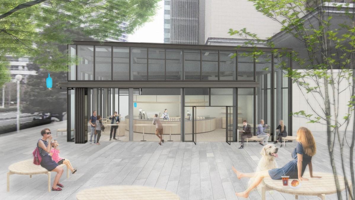 カフェデザインは芦沢啓治建築設計事務所が担当